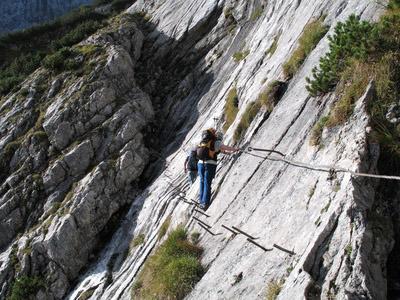 Klettersteig Oberjoch : Klettersteig beschreibung hindelanger