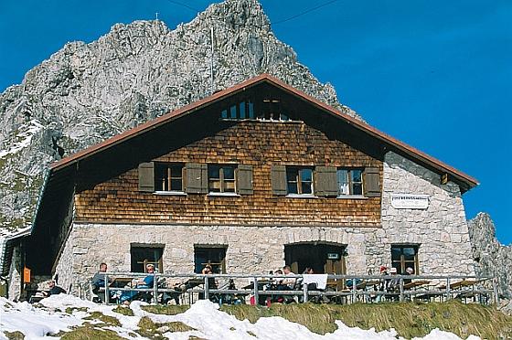 Fiderepasshütte im Kleinwalsertal