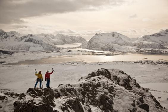 Lofoten Hoven Gipfel