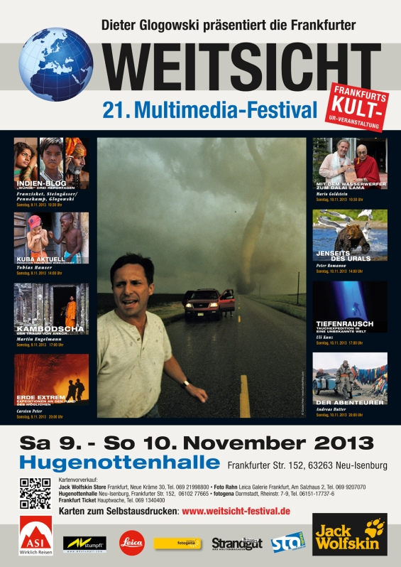 21. Weitsicht-Festival vom 9. – 10. November 2013 - Hugenottenhalle Neu - Isenburg