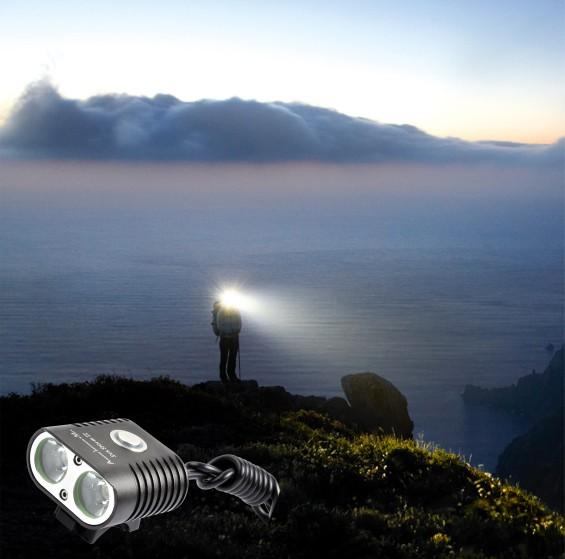 Stirnlampe - Sun Storm 2: Klein, leicht, leistungsstark