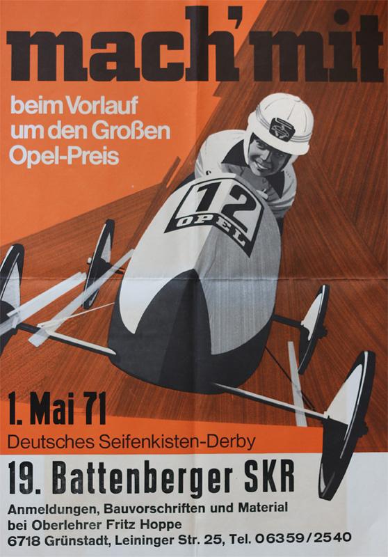 Battenberg/Pfalz - 19. Seifenkistenrennen - 01. Mai 1971